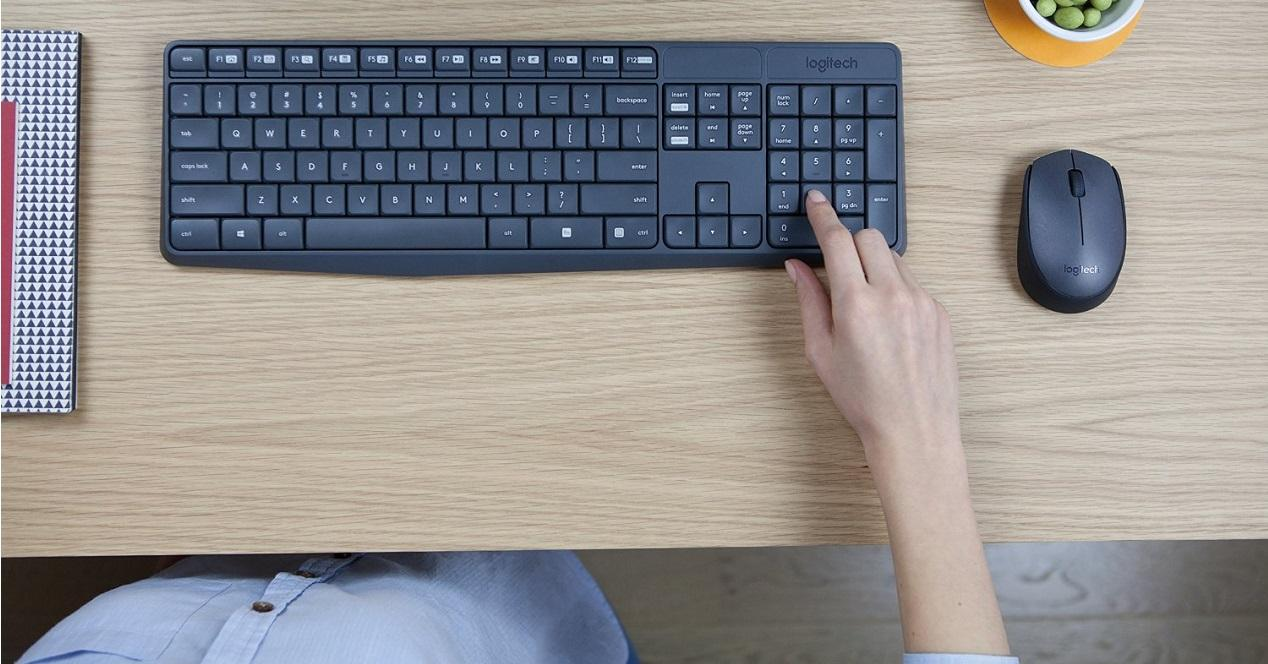 Ratón y teclado