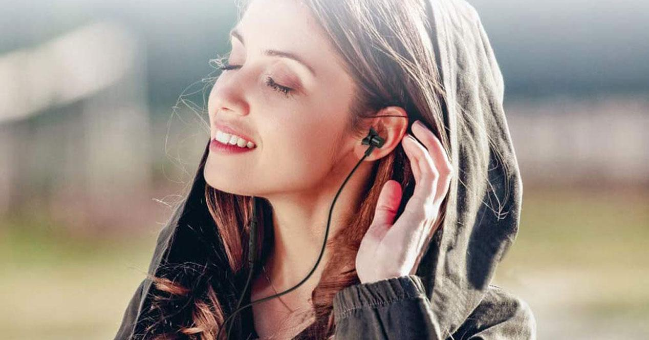 Uso de auriculares USB tipo C
