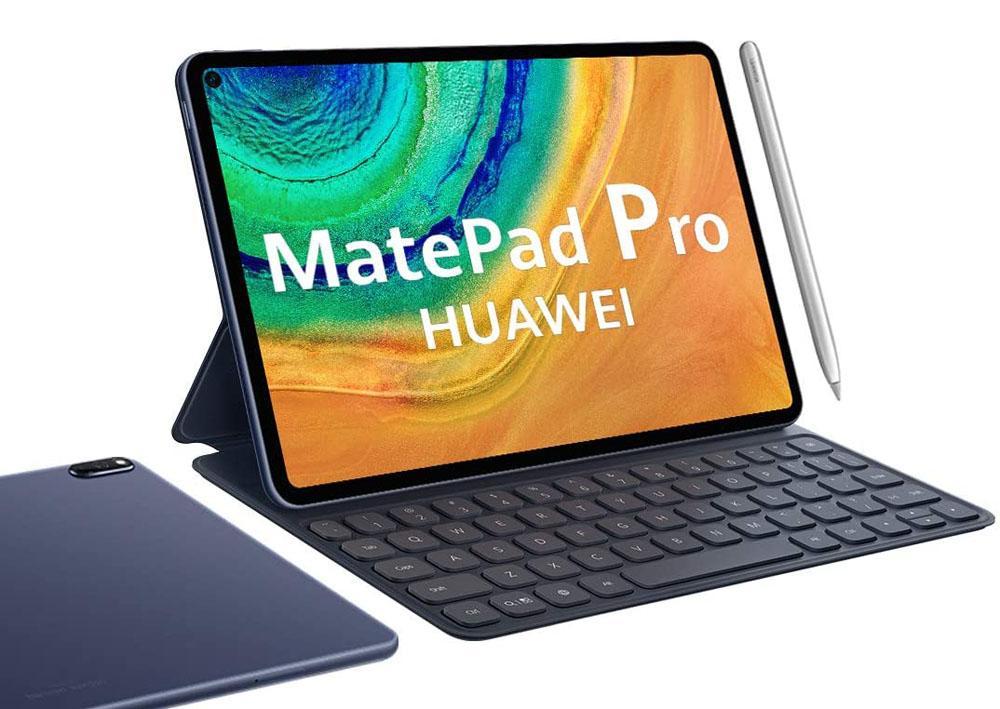 Imagen tablet Huawei MatePad Pro con stylus