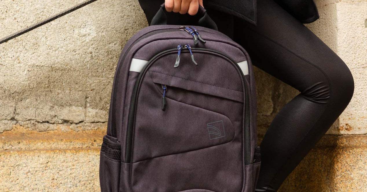 Uso de mochilas portátiles