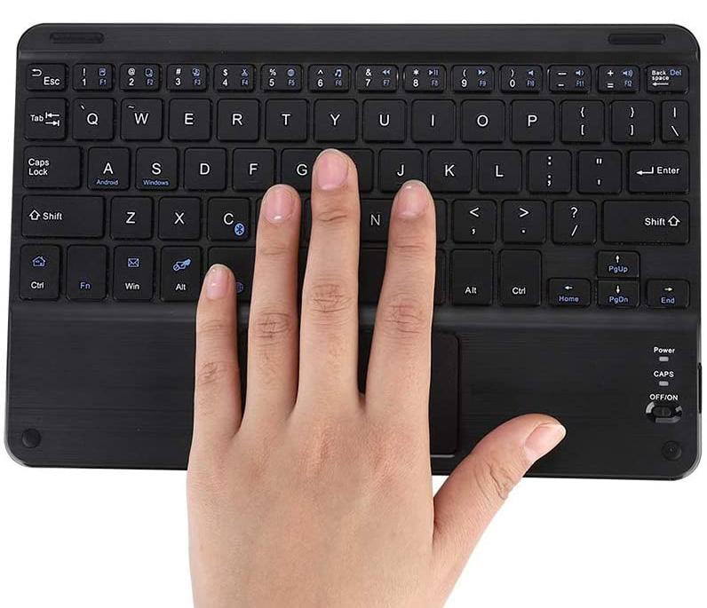 uso de teclados para portátiles