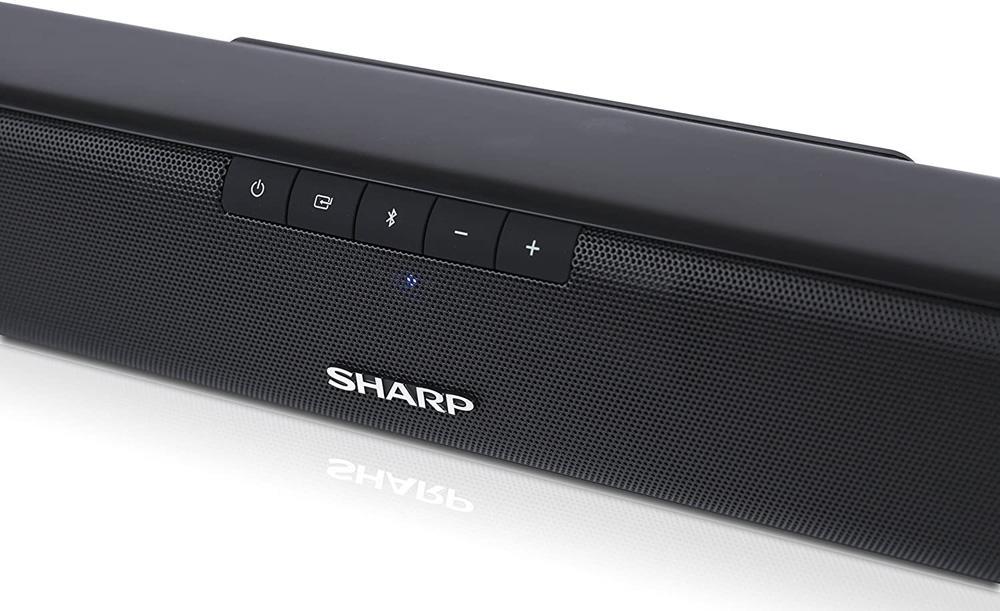Botones integrados en las barras de sonido