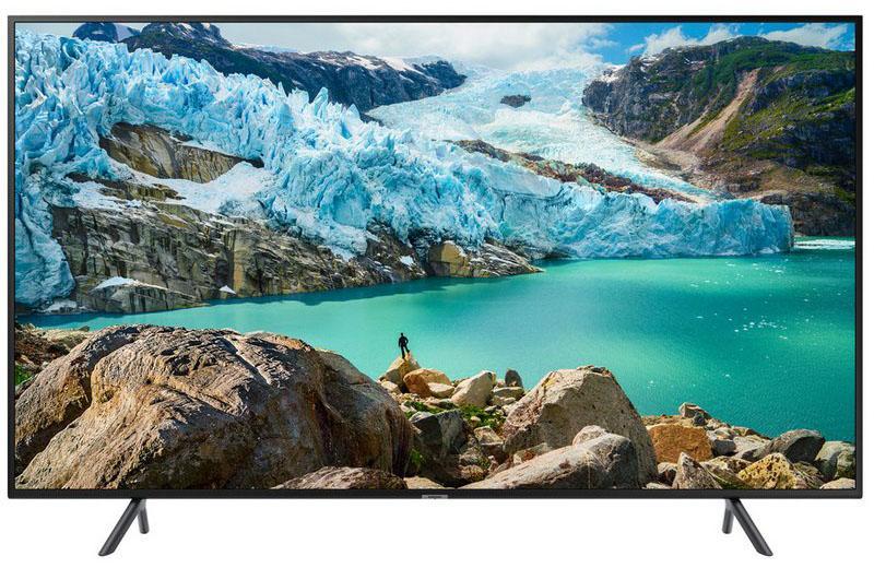 Frontal de la Smart TV Samsung UE43RU7172 color negro