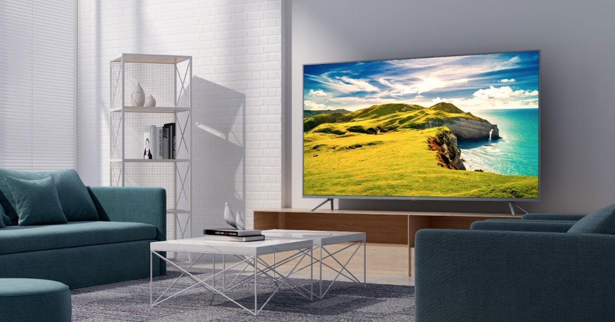 Uso de Smart TV Xiaomi Mi TV4S en el salón