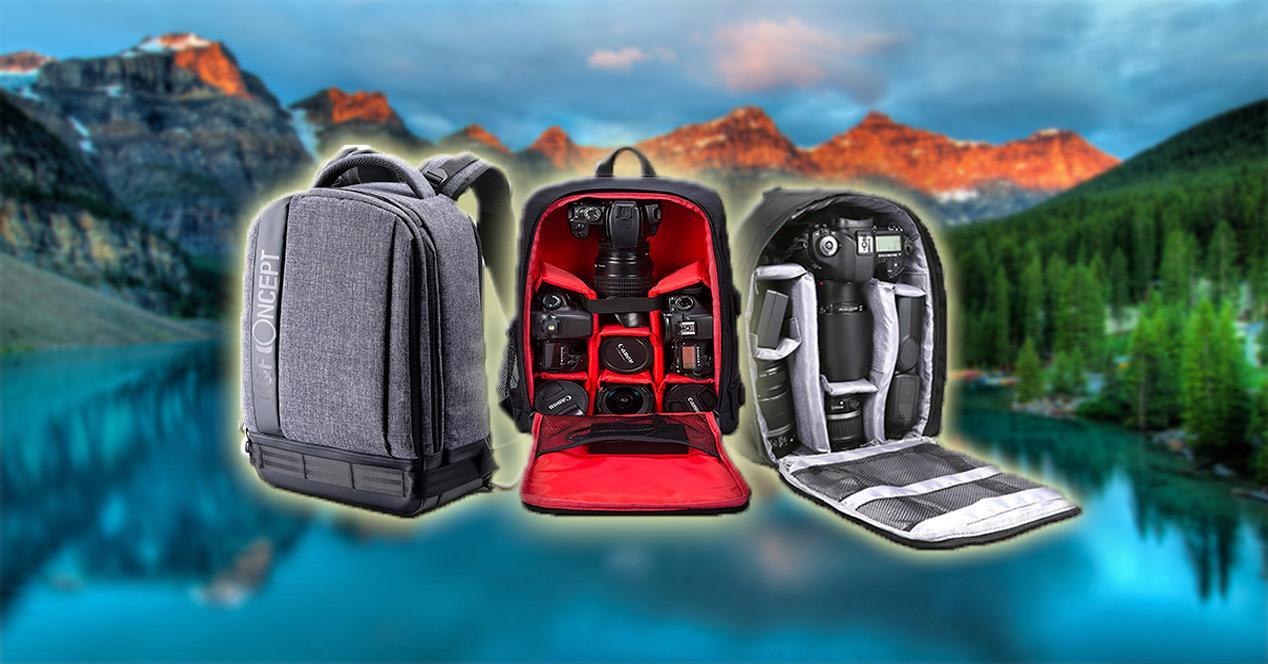 Mejores mochilas fotográficas DSLR