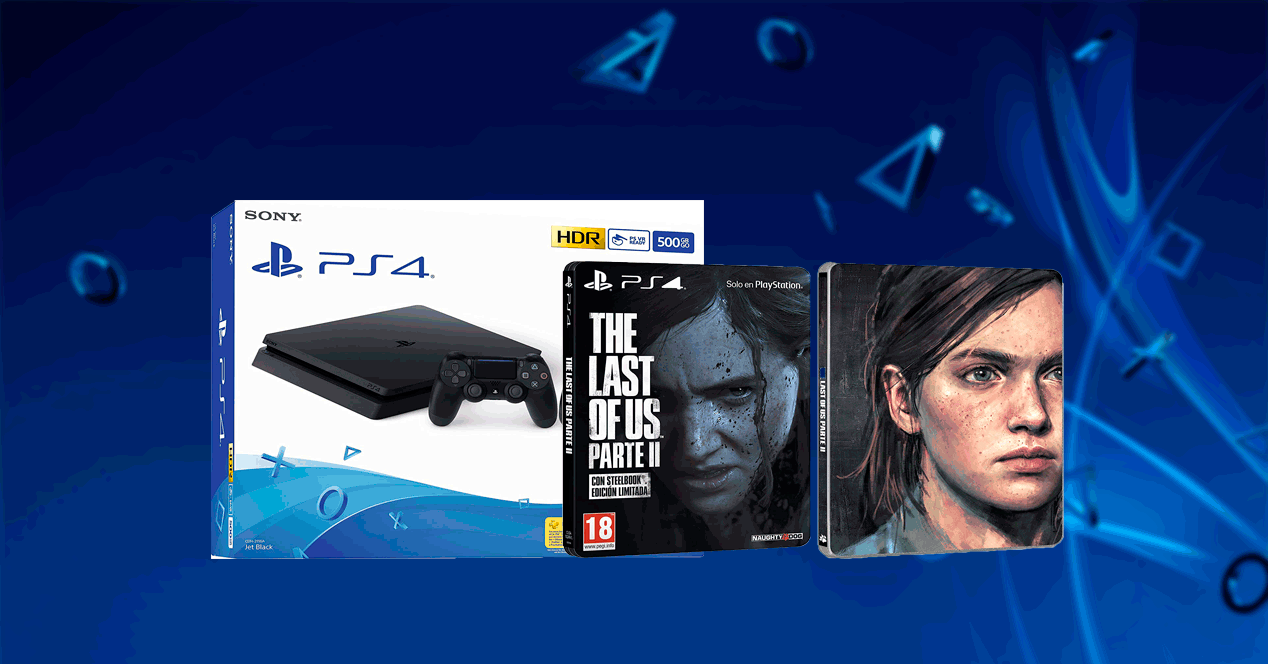 Pack ps4 con The Last of Us Parte II