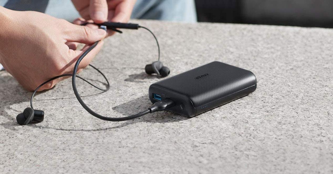 Uso en la calle de las baterías externas