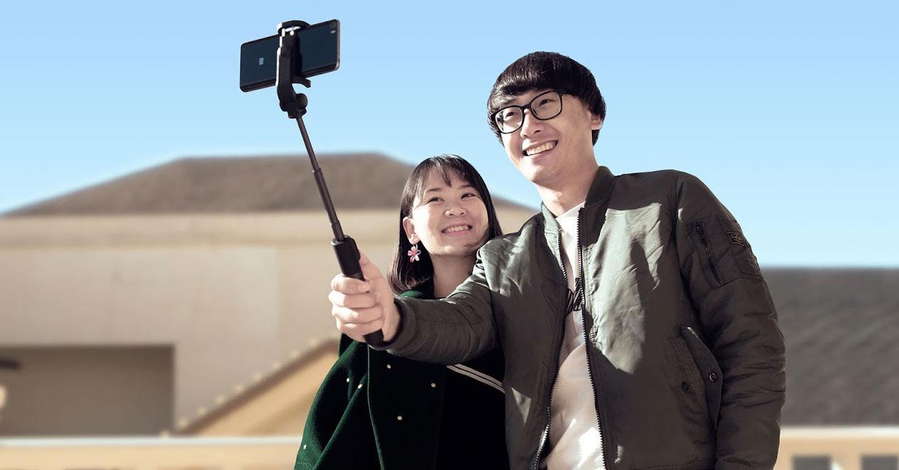 Uso del accesorio Xiaomi Selfie Stick