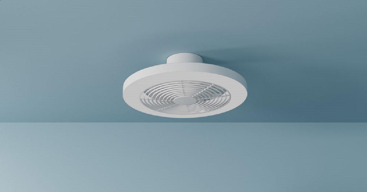 lámpara inteligente con ventilador de xiaomi