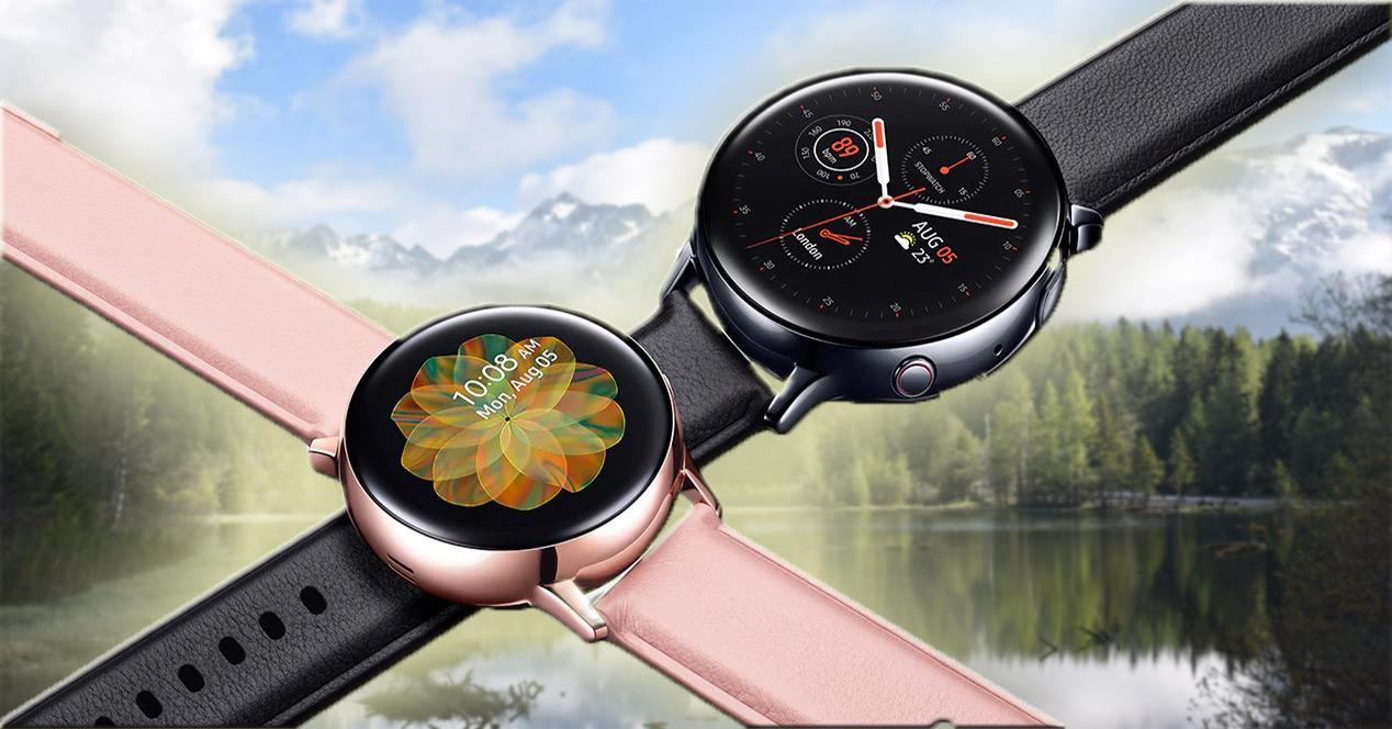 Diseño del Samsung Galaxy Watch Active 2