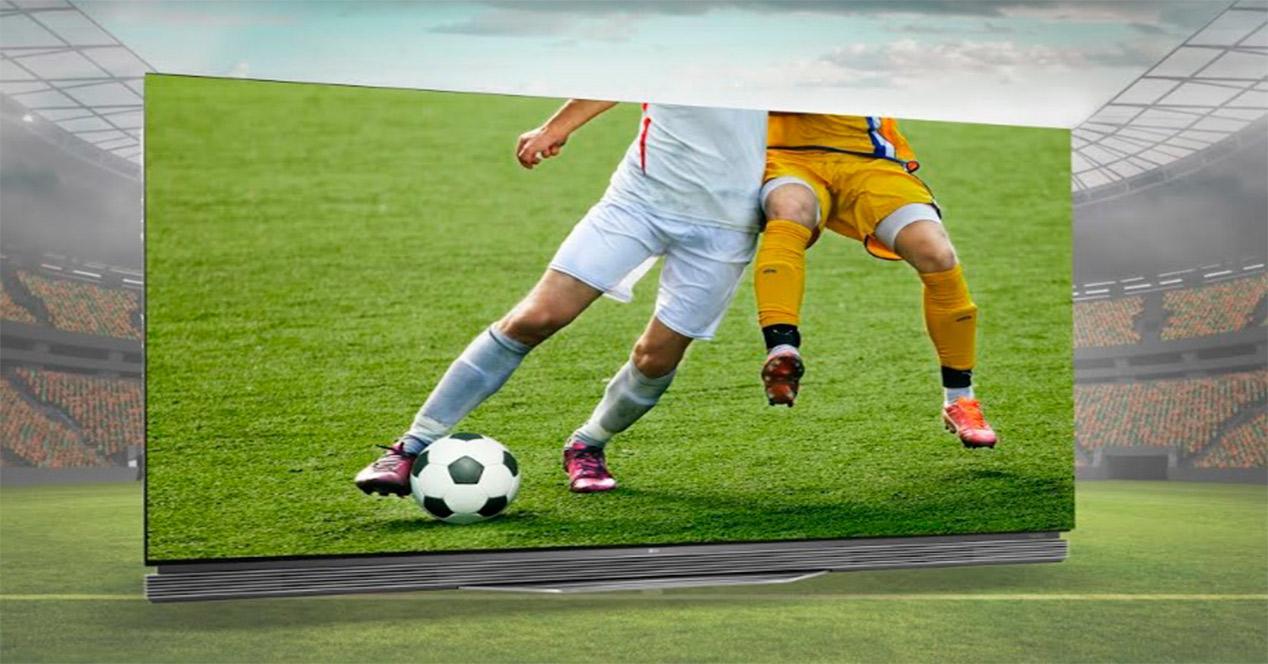 Como disfrutar del deporte en un Smart TV