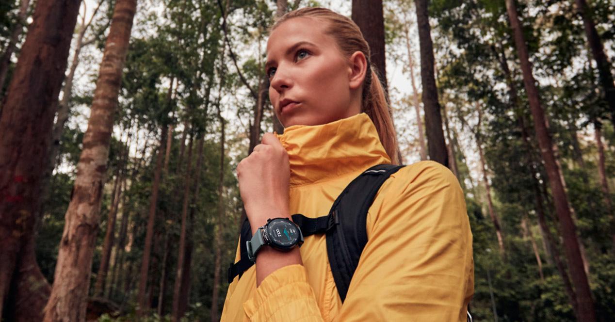 smartwatch Huawei Watch GT2 imagen promocional