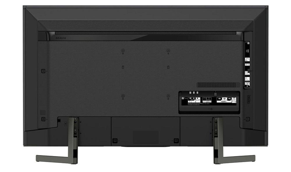 Conexiones de la Smart TV Sony KD-49XG9005