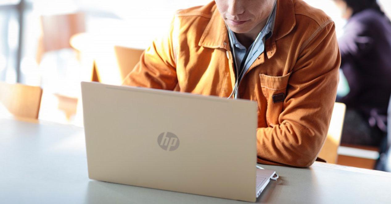 Uso del portátil barato HP Pavilion x360