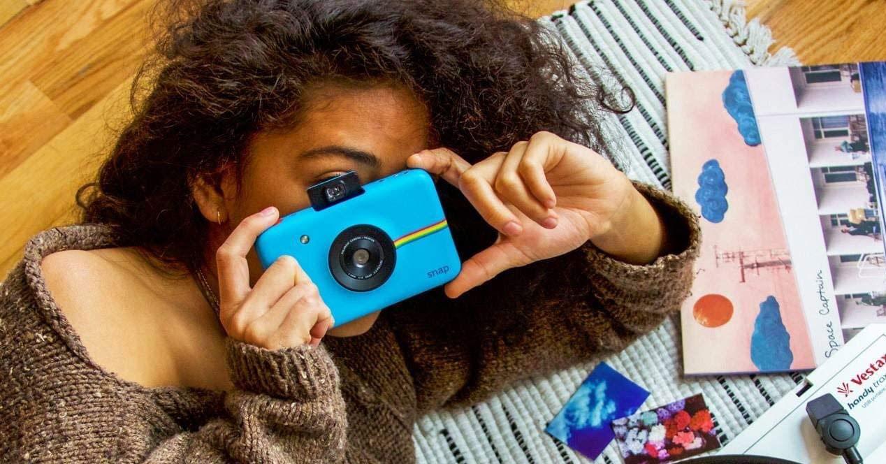 Uso de la impresora Polaroid Snap