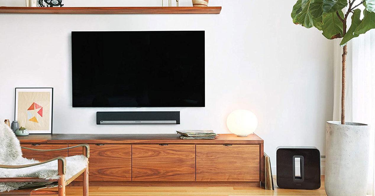 Uso de la barra de sonido Sonos Playbar