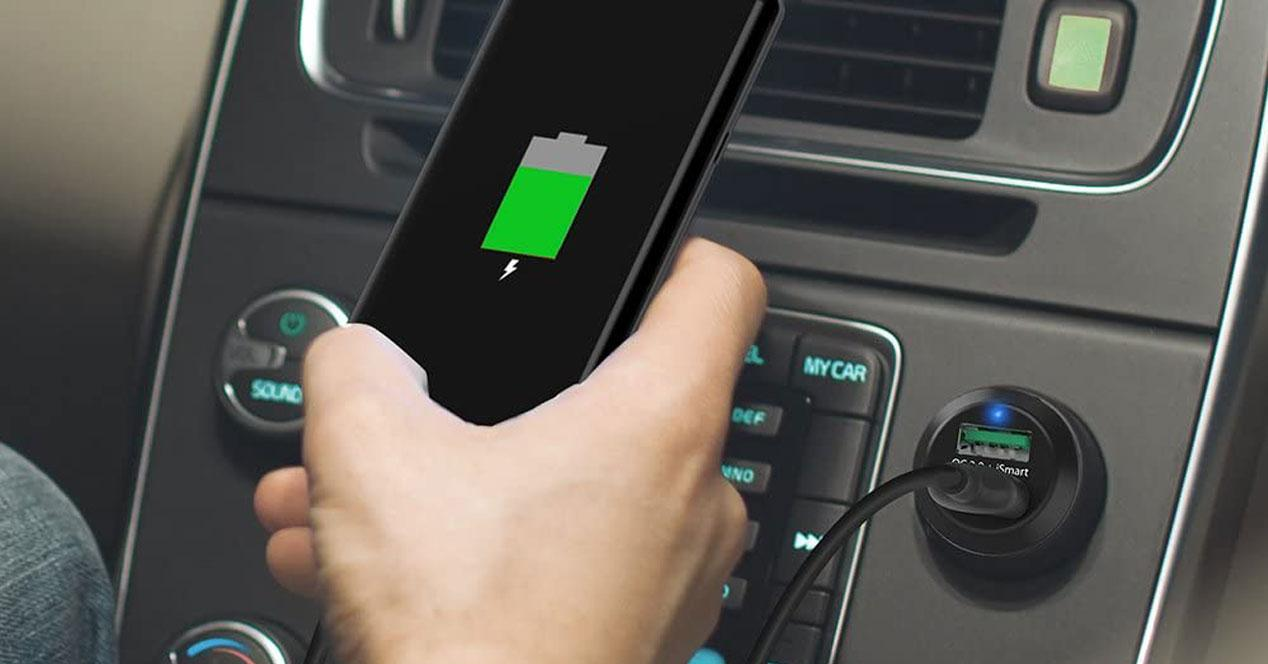 Uso de cargador para el coche