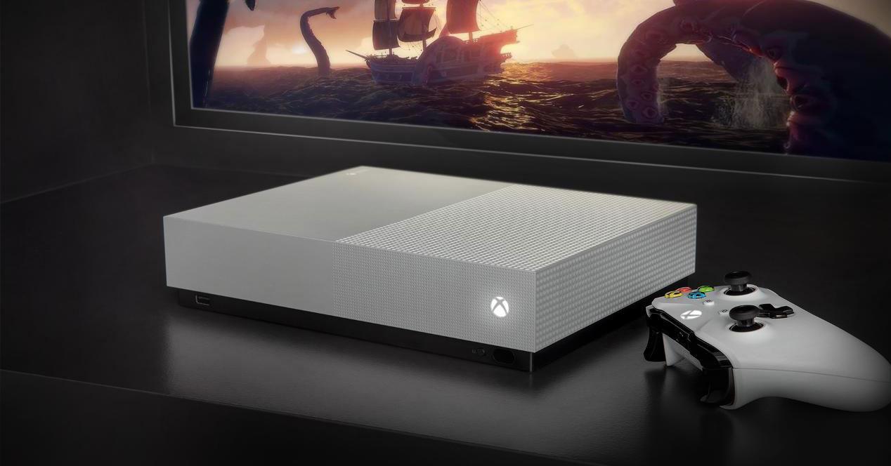 Xbox One S con mando