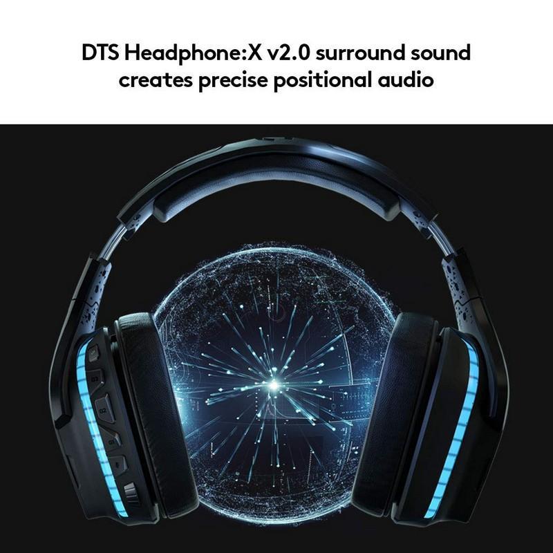 auriculares gaming Logitech G935 de frente