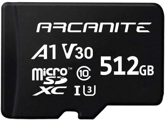 MicroSD ARCANITE  de 512 GB