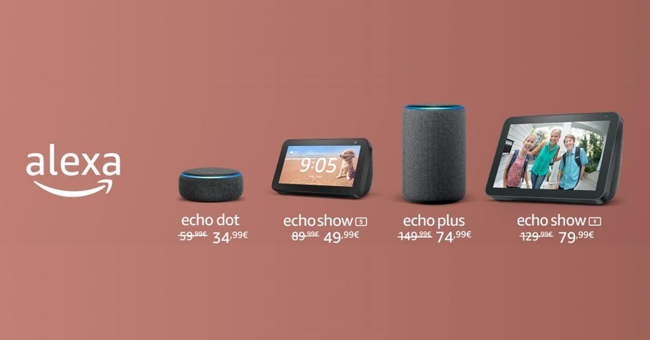 Amazon echo ofertas