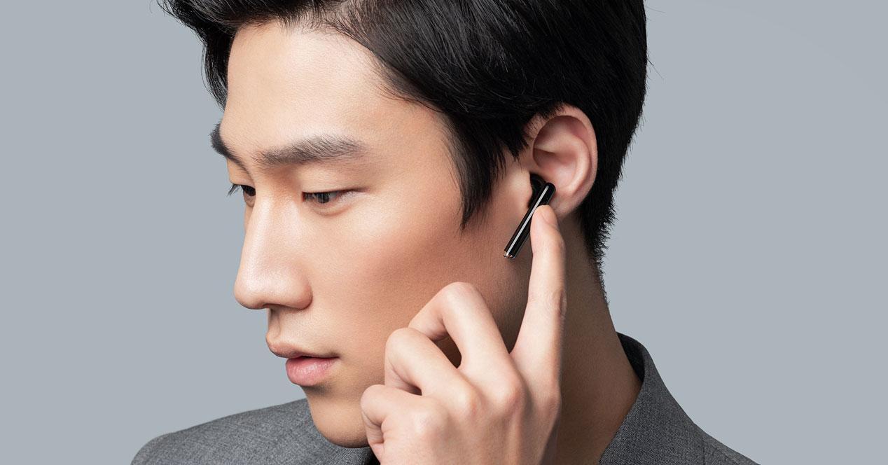 Uso de los auriculares Huawei FreeBuds 3