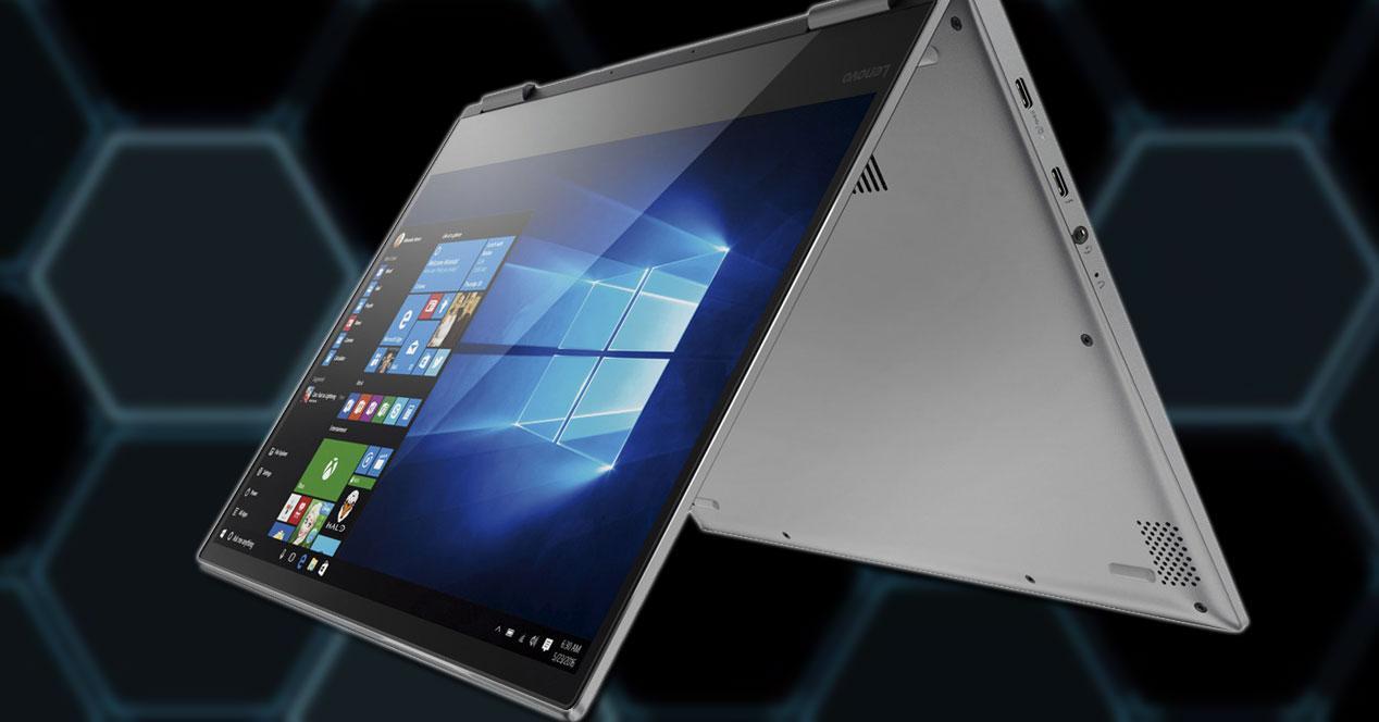 Convertible Lenovo YOGA 720-13IKB con fondo