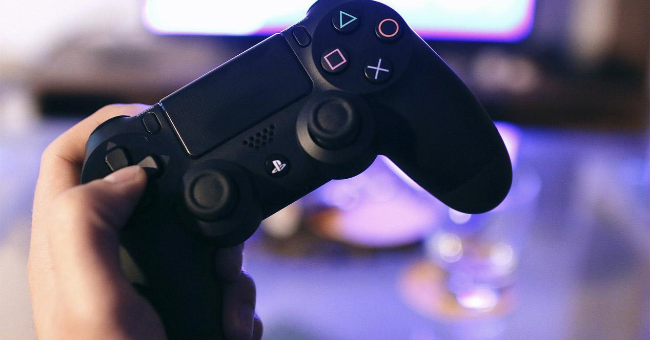 Uso del mando de la consola PS4