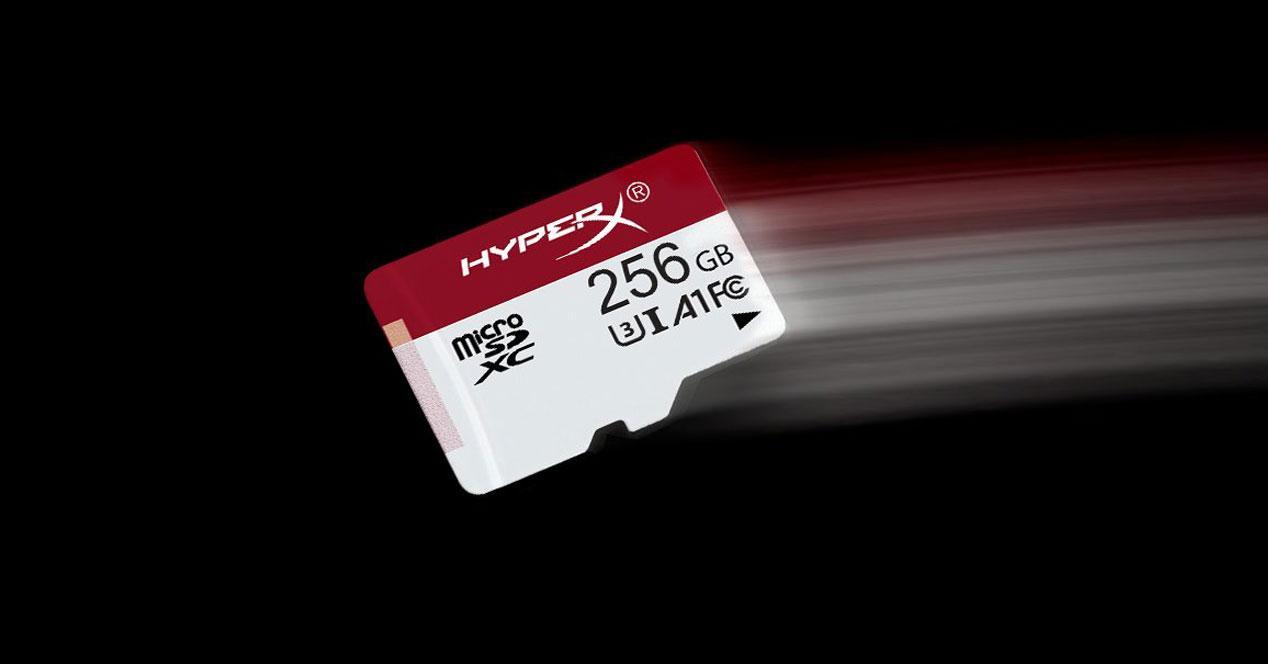 MicroSD rápida
