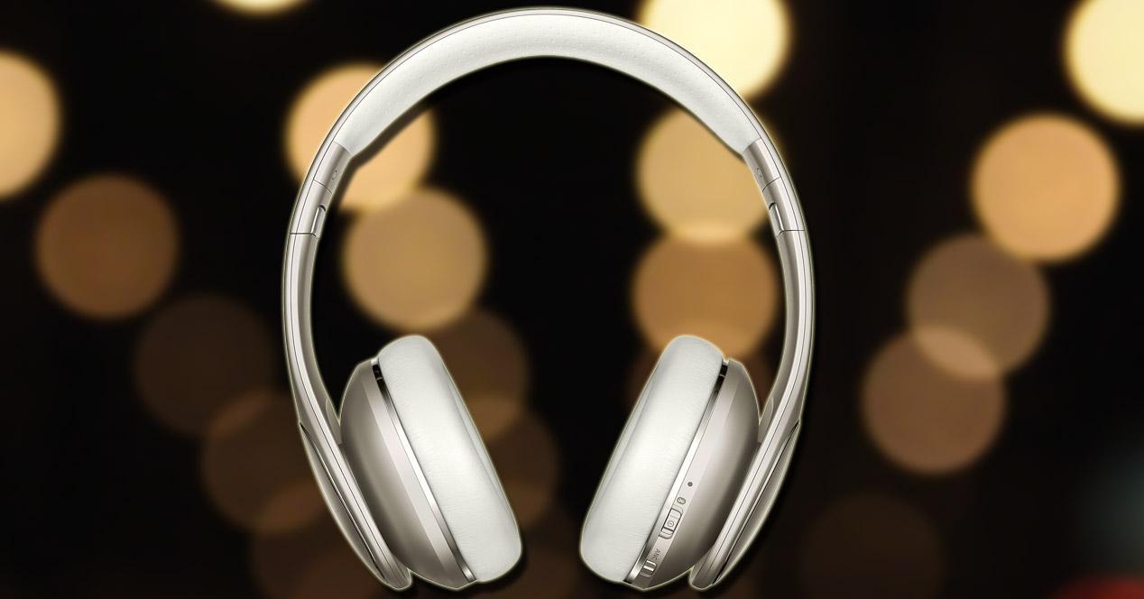 Auriculares Samsung LEVEL On con fondo