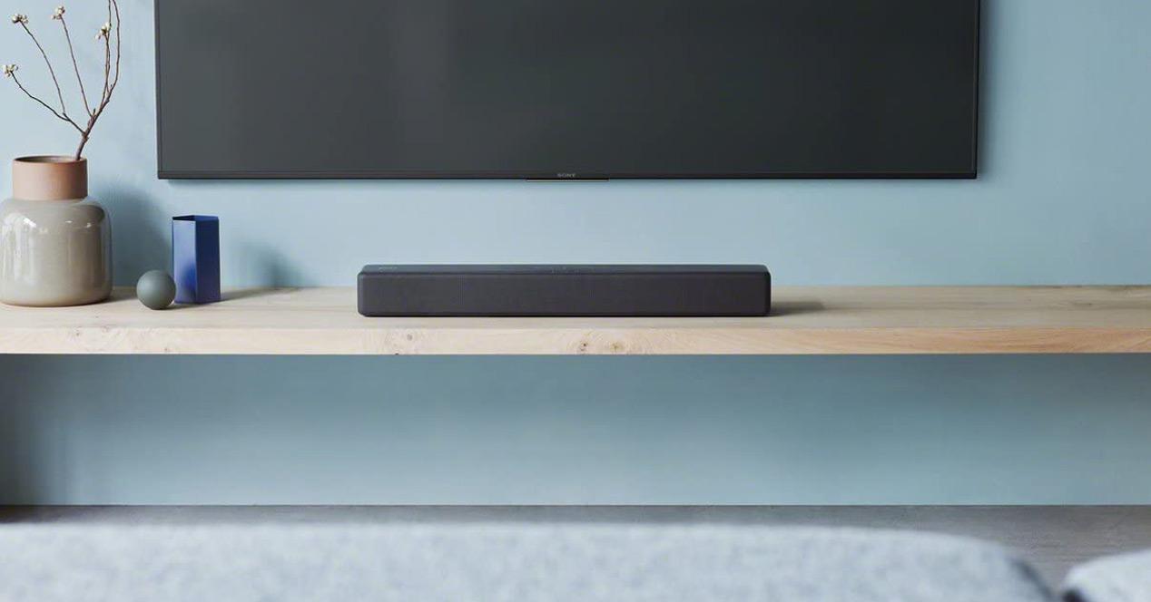 Uso de la barra de sonido Sony HTSF200