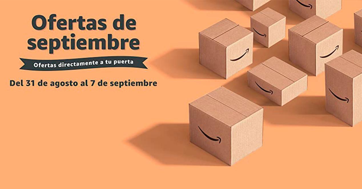 Ofertas de Amazon en septiembre