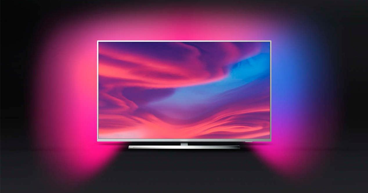 Smart TV philips con ambilight