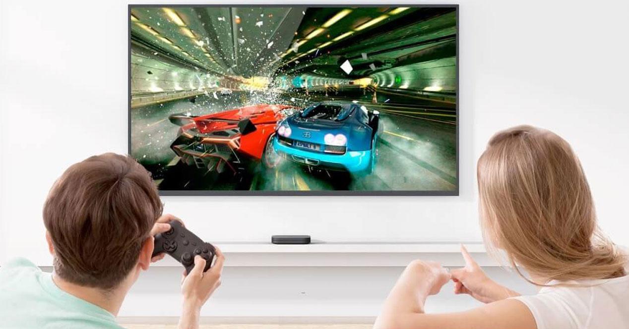 Jugando con el Xiaomi Mi TV S