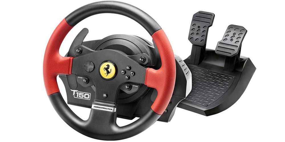 Thrustmaster T150 Ferrari Edition volantes para juegos