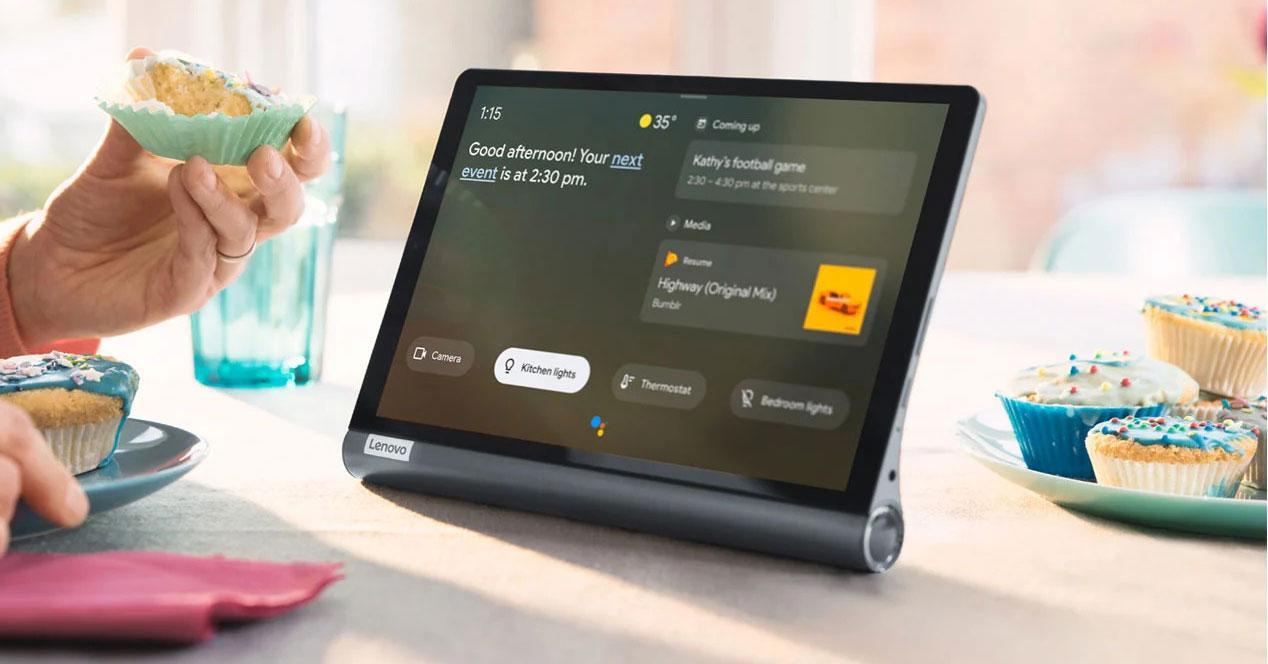 Uso del tablet Lenovo Yoga Smart Tab