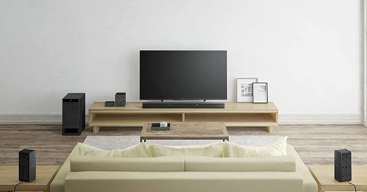 Barra de sonido Sony 5.1 en oferta