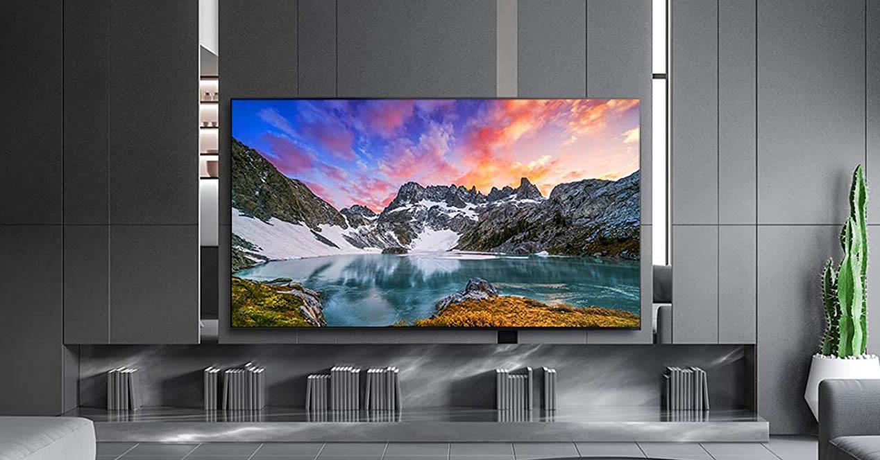 smart Tv LG en el salón