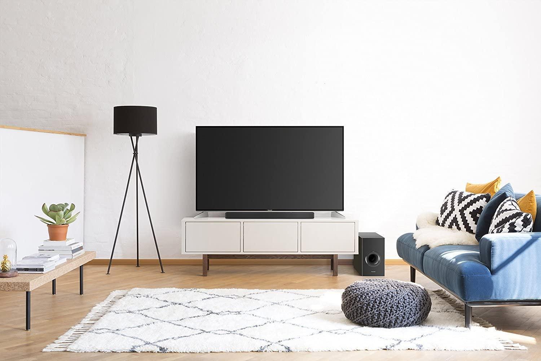 barra de sonido panasonic en el salón
