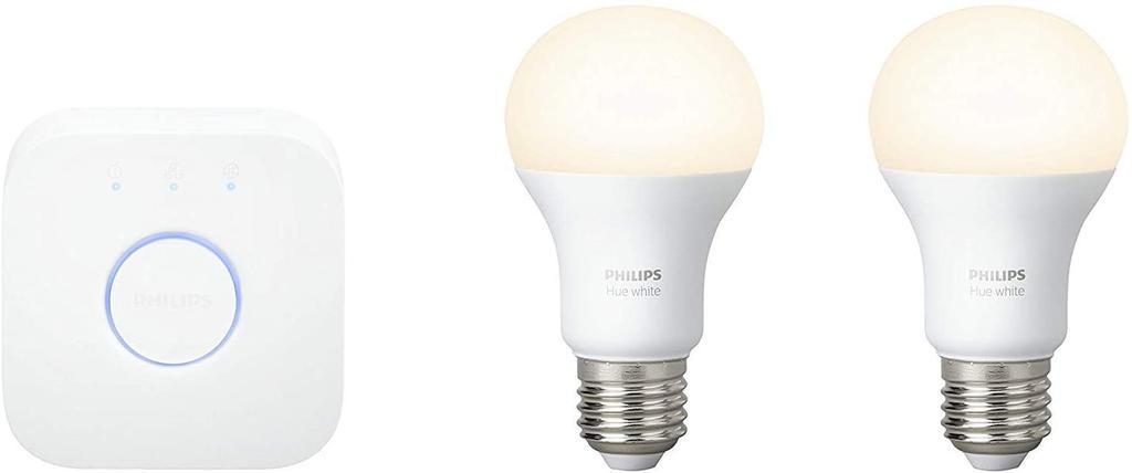 Kit de iluminación Philips Hue Kit 2 Bombillas Inteligentes