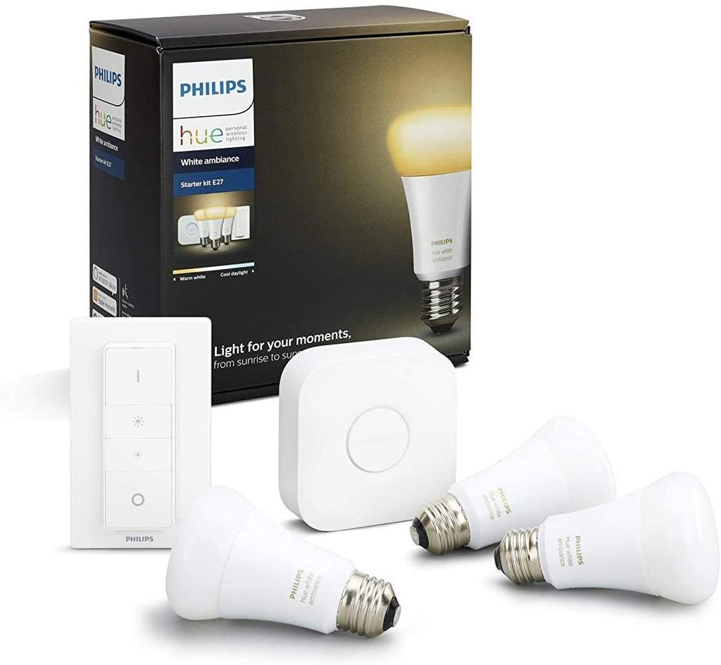Kit de iluminación Philips Hue White Ambiance