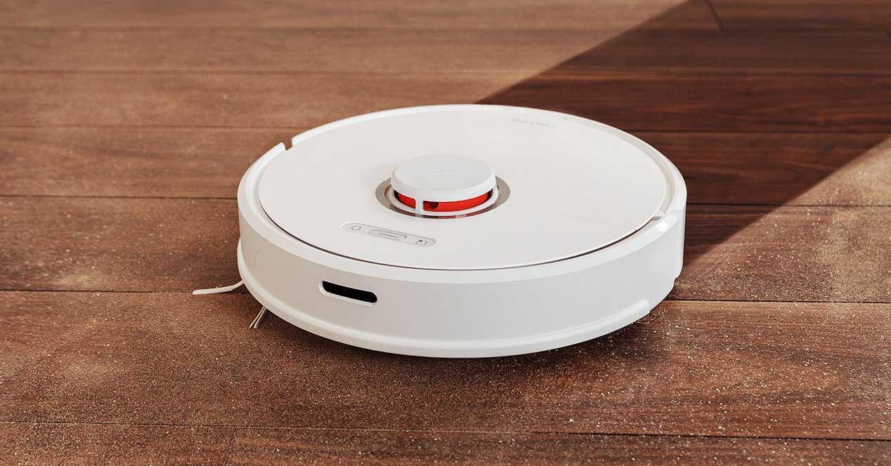 Roborock S6 limpiando