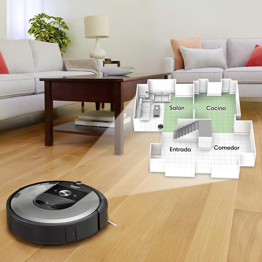 iRobot Roomba i7156 mapeo