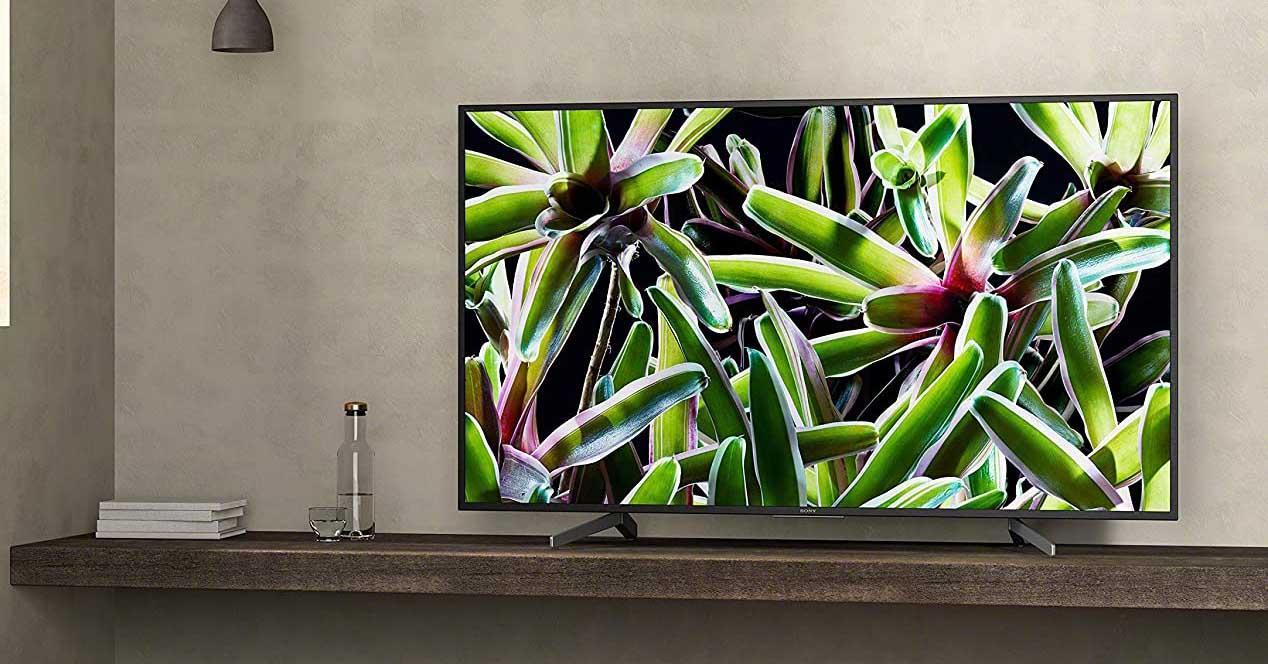 Smart TV de Sony en el salón