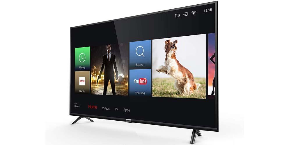 Smart TV TCL 65DP600 de lado