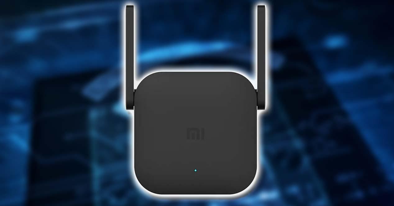iaomi Mi WiFi Range Extender Pro con fondo