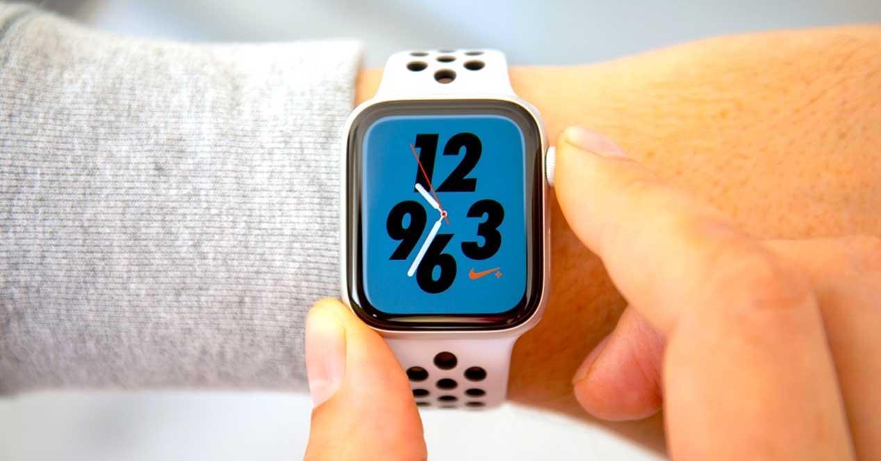 Apple Watch Nike pantalla