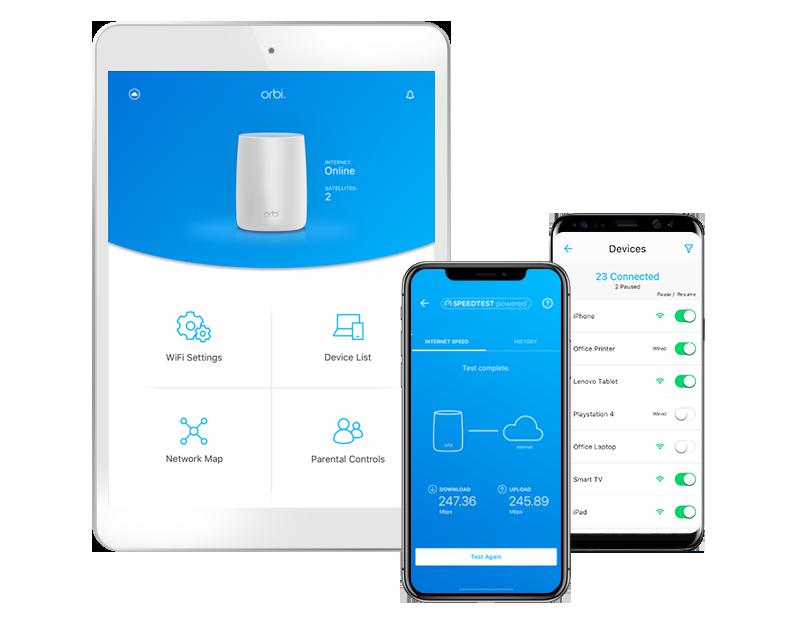 App router wifi de malla