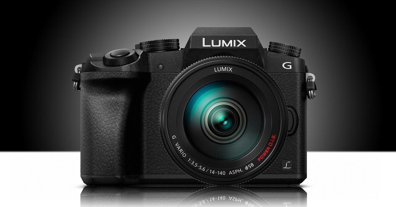Cámara EVIL Panasonic Lumix DMC-G7KEC