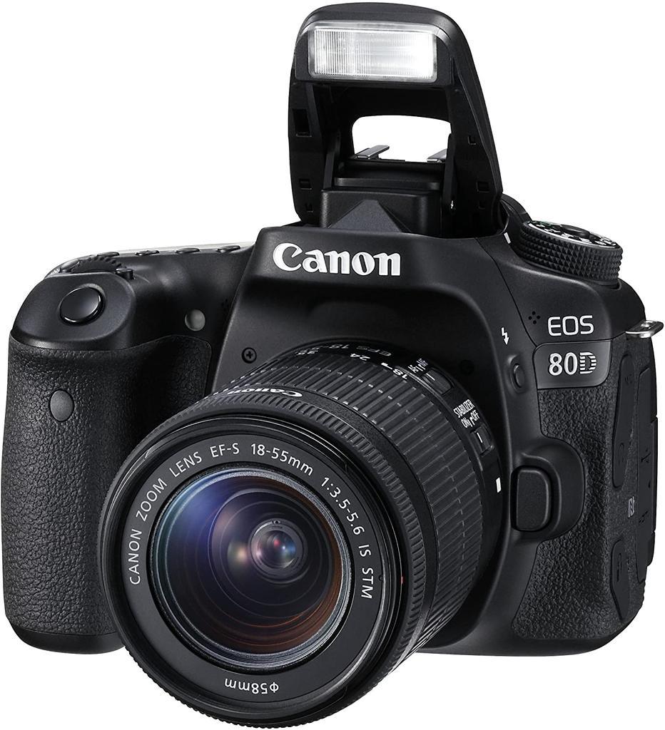 Canon EOS 80D de perfil